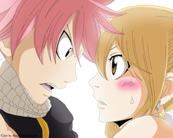 FT 425 - Natsu and Lucy by AlexanJ