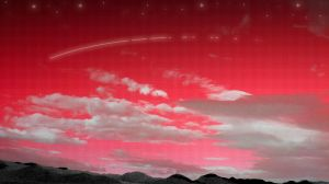 red fabric sky by fogAlien