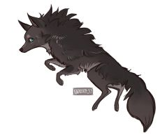 Wolf Character by pearlls