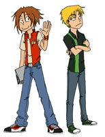 Bart and Thad by dcake