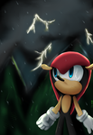 Storm's gettin close +speedpaint by Tri-shield