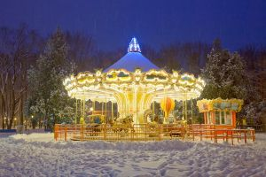 winter carousel by KYAV