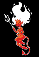Red Hot Mama T-Shirt Design by WarBrown
