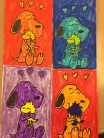It's the Warhol Beagle, Charlie Brown! by Jeremy-the-Blockhead