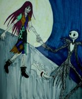 JackxSally by InkArtWriter