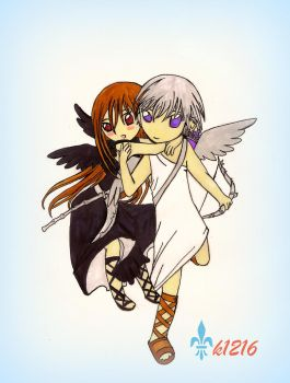 Angel and Reaper VK by k1216