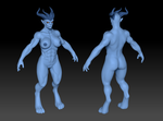 Demoness Polypaint by Dalus