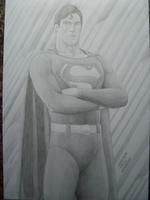 superman reeve by SUPERTIAGOF