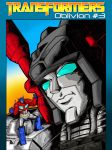 Transformers: Oblivion #3 COVER B by Optimus8404
