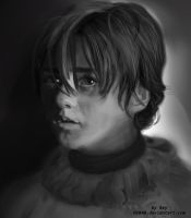 Arya_sketch by Aleximv
