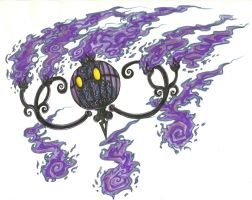 Chandelure by TheLaughingChimera