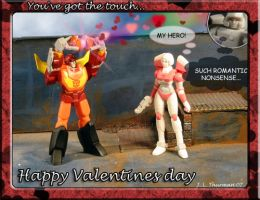 The Touch - V-day card by Sunstars