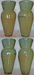 FOR SALE: HANDMADE JADE GREEN VASE by annehill