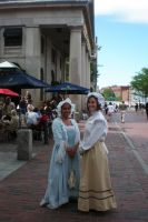 Quincy Market Girls by 3dmirror-stock