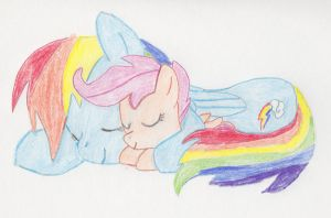 I'll be there for you, kid, no matter what by ScootaloosWings