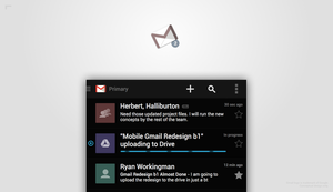 Gmail Redesign 2 by r2ds