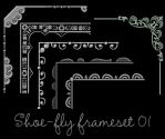 Photoshop frame set 01 by shoe-fly