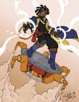 Static Shock Steampunk by Kebiru