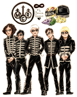 MCRmy Never Die! by lytre98