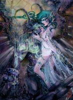 where your heart lies || tyrande x illidan by iscariotic