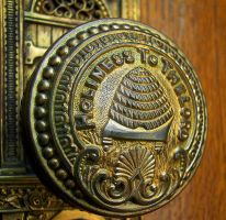 Doorknob LDS Salt Lake Temple by houstonryan