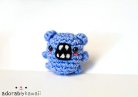 mini blue monster by adorablykawaii