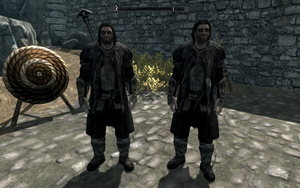 Farkas 'n Vilkas in Ulfric Stormcloak's Clothes by Mediziner
