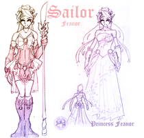 Introducing: Sailor Feanor by LadyDuskfall