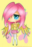 Fluttershy by pipskitts204