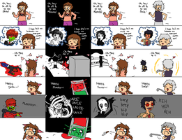 yume nikki is a shoujo manga by lal0nde