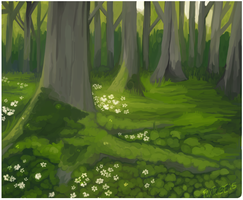 a forest oooh how original by foxtribe