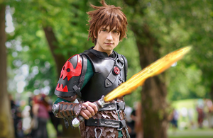 Hiccup Cosplay - How to Train Your Dragon 2 HTTYD2 by lowlightneon