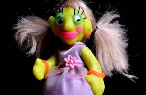 ugly barbie II by karyadaridesa