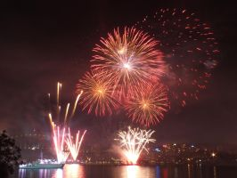 Fleet Review Fireworks 18 by BrendanR85