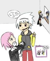 To Crona From Soul by applezaira