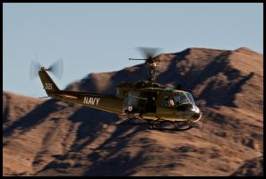 Nellis Huey by AirshowDave