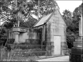 Family crypt at Gore Hill by aesthetique