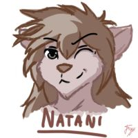 Daily Doodle #18. Natani by OnlyOneFoxy