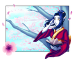 GR: Cherry Blossom Spring by TouchedVenus