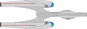 Uss Atlantis Ncc-1693 by Lookatmyamazingshoe