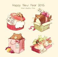 Happy New Year 2015 by sdPink