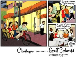 Cloudhopper art show page A by geoffsebesta