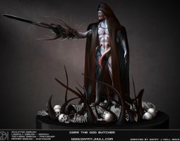 Gorr The God Butcher - 3D Character art by 02wdhull