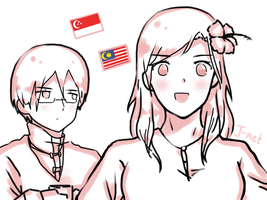 APH Singapore and Malaysia by The-Human-Girl