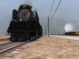3985 AND 4014 by Steamfan1992
