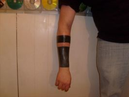 More Black Arm Band by horrorink