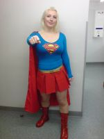 me as supergirl by roguelioness