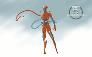 Realistic Deoxys GIF