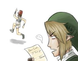 Dear Link, by Firedblue