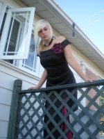 Lady rose at the balcony 06 by gsdark-stock
